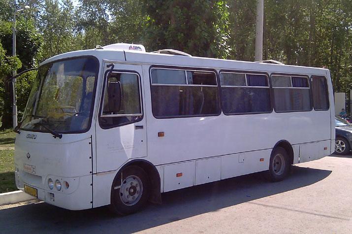 Заказ автобуса Исузу